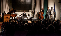 Brian Blade and the Fellowship Band at LA State Exhibition Museum 12-19-2015-008