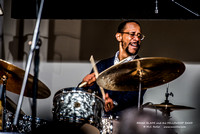 Brian Blade and the Fellowship Band at LA State Exhibition Museum 12-19-2015-054